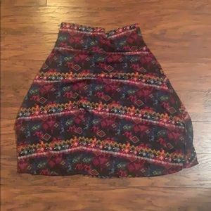 Lularoe skirt size large